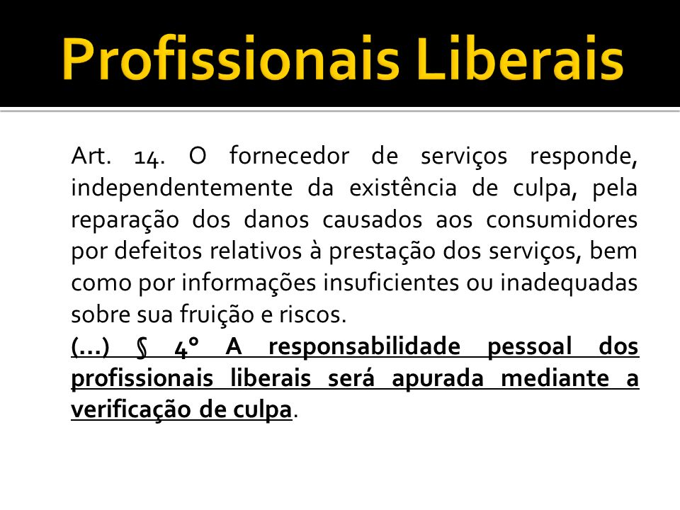 Profissionais Liberais
