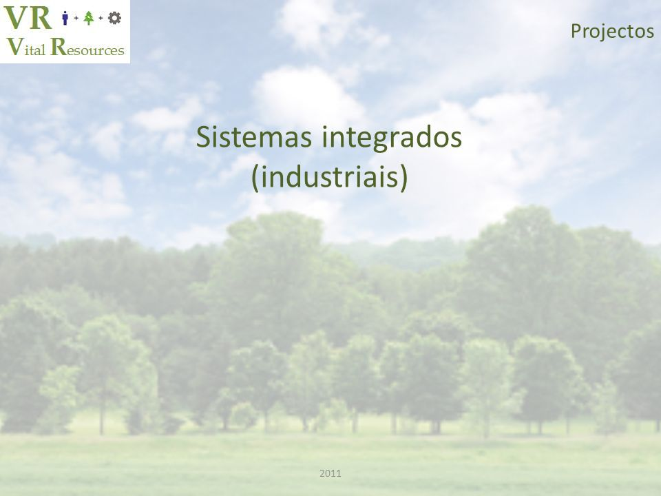 Projectos Sistemas integrados (industriais) 2011