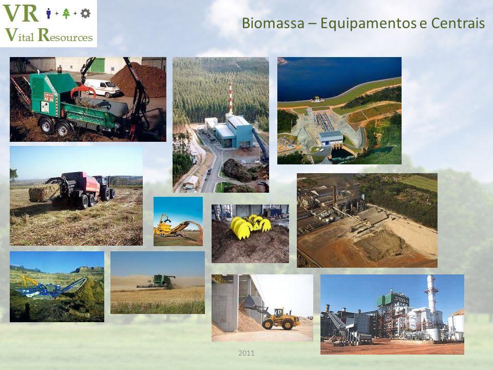 Biomassa – Equipamentos e Centrais