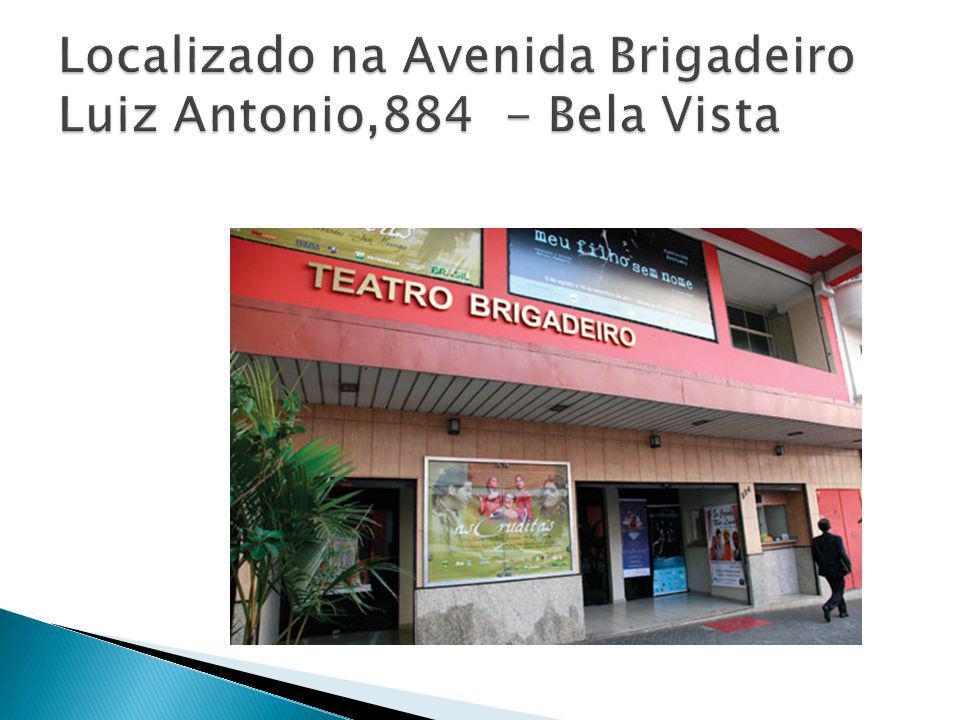 Localizado na Avenida Brigadeiro Luiz Antonio,884 - Bela Vista