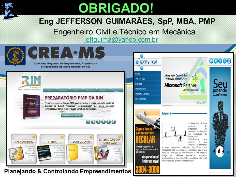 Eng JEFFERSON GUIMARÃES, SpP, MBA, PMP