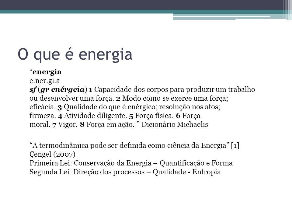 O que é energia