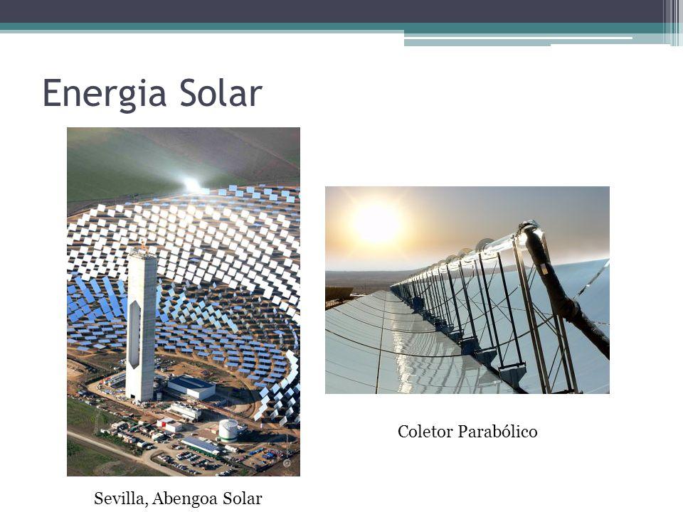 Energia Solar Coletor Parabólico Sevilla, Abengoa Solar