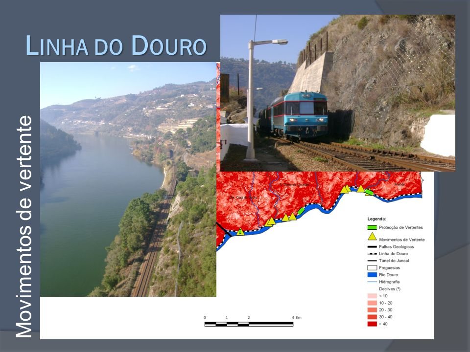 Linha do Douro Movimentos de vertente