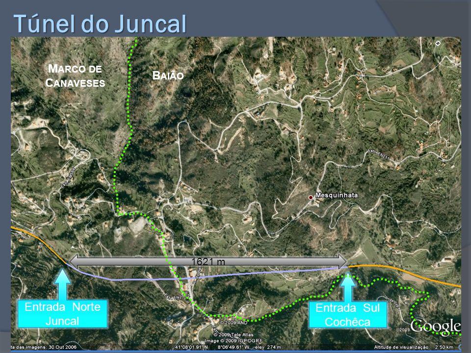 Túnel do Juncal Marco de Canaveses Baião Entrada Norte Entrada Sul