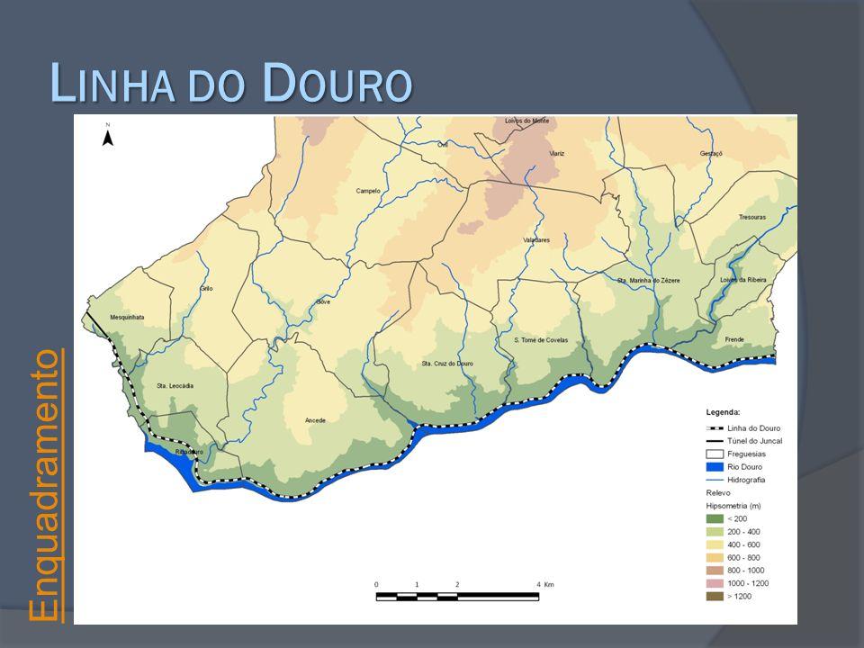 Linha do Douro Enquadramento