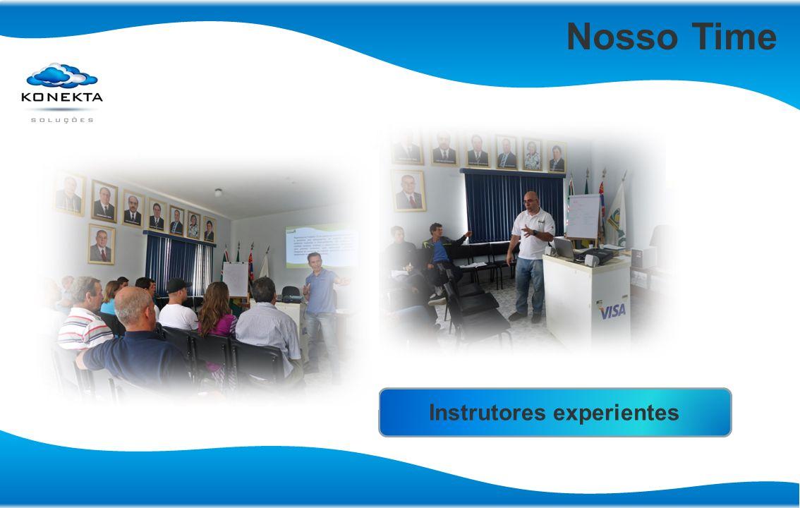 Instrutores experientes