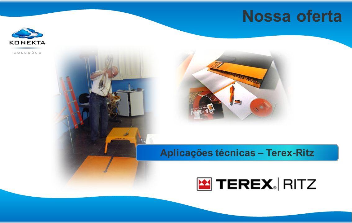 Aplicações técnicas – Terex-Ritz