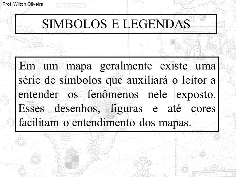 SIMBOLOS E LEGENDAS