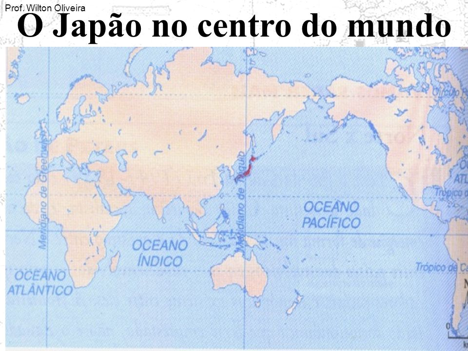 O Japão no centro do mundo