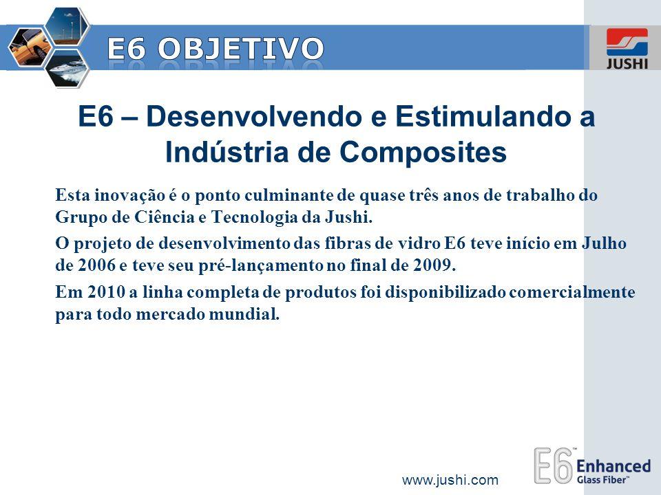 E6 – Desenvolvendo e Estimulando a Indústria de Composites