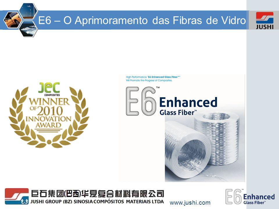E6 – O Aprimoramento das Fibras de Vidro
