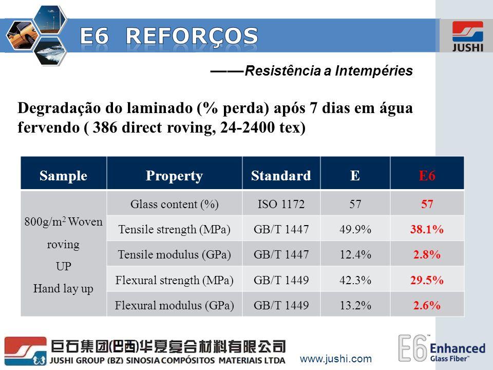 E6 Reforços ——Resistência a Intempéries