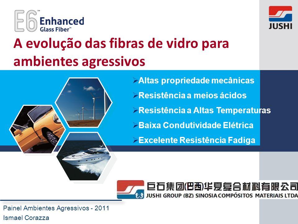 A evolução das fibras de vidro para ambientes agressivos