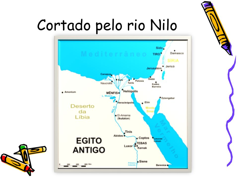 Cortado pelo rio Nilo