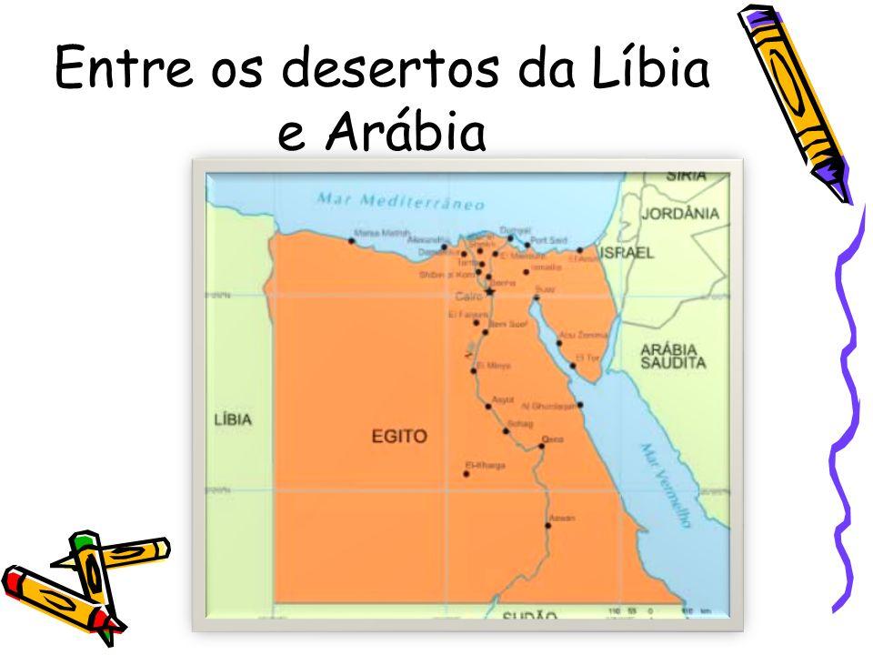 Entre os desertos da Líbia e Arábia