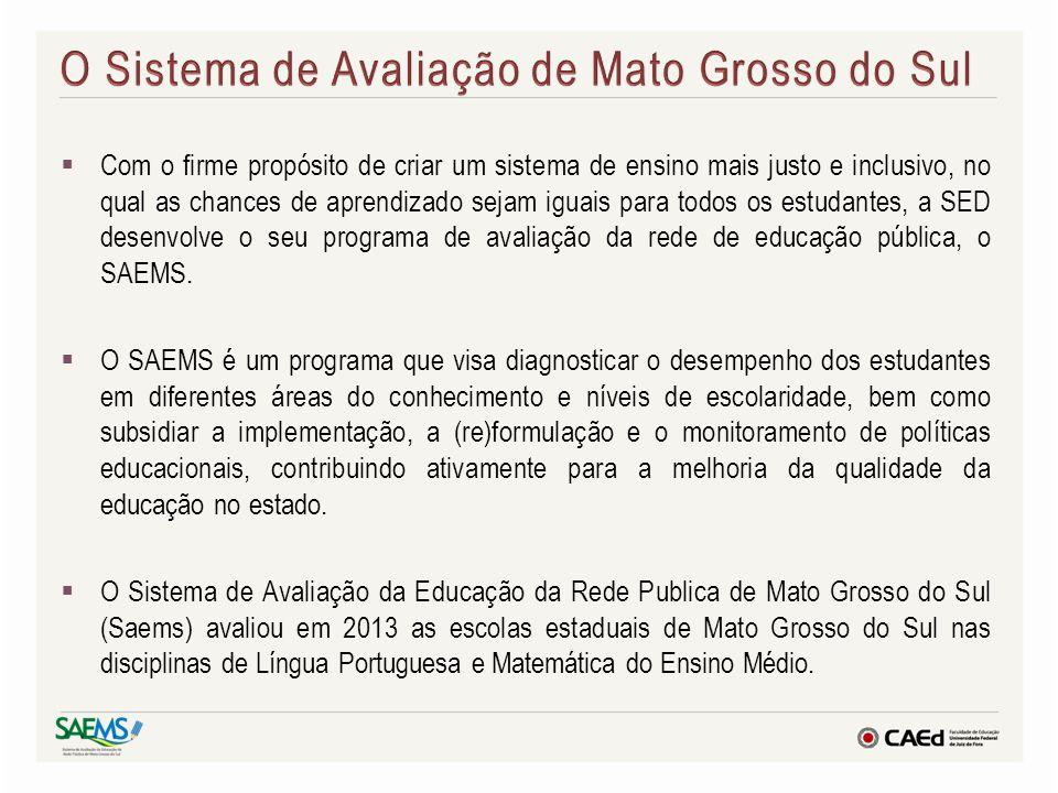 O Sistema de Avaliação de Mato Grosso do Sul