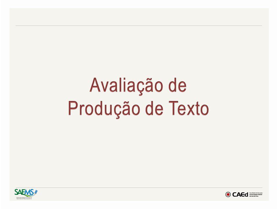 Avaliação de Produção de Texto