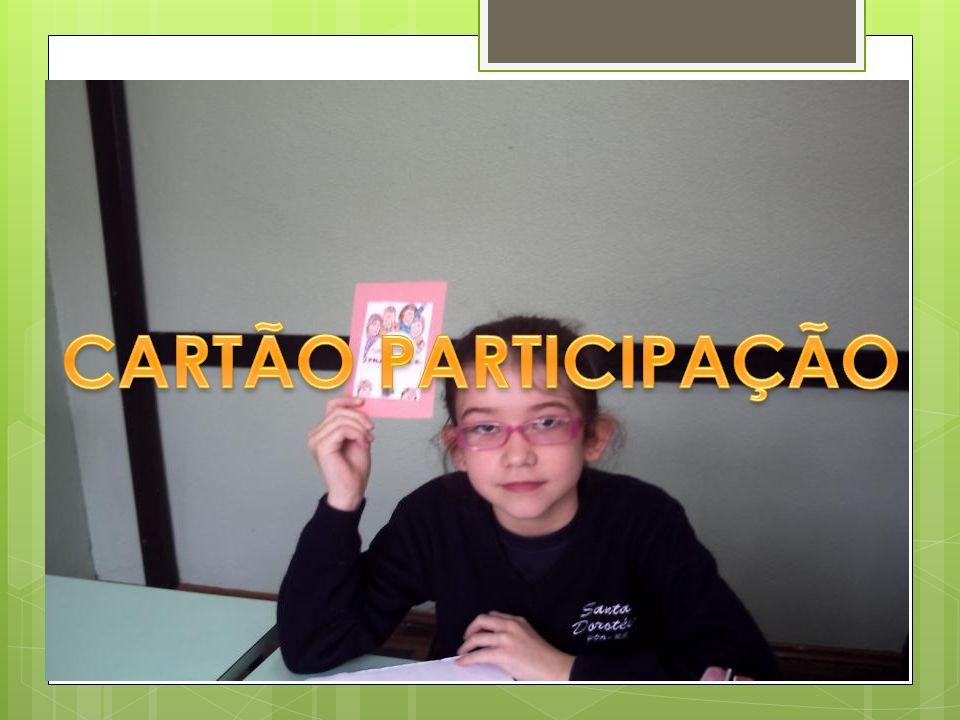 CARTÃO PARTICIPAÇÃO