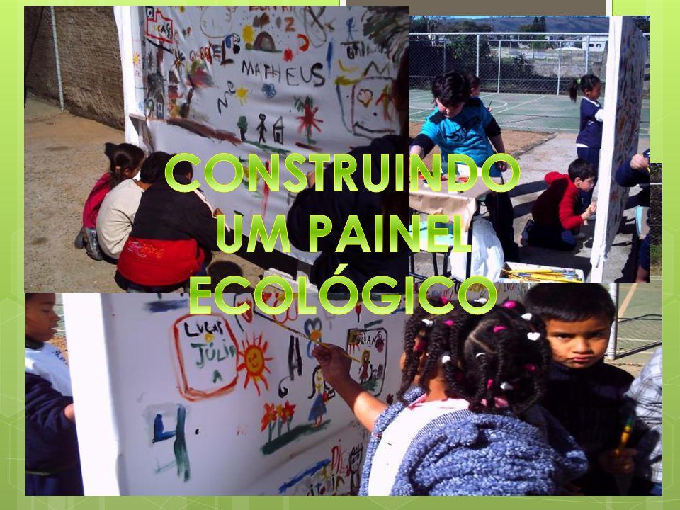 CONSTRUINDO UM PAINEL ECOLÓGICO