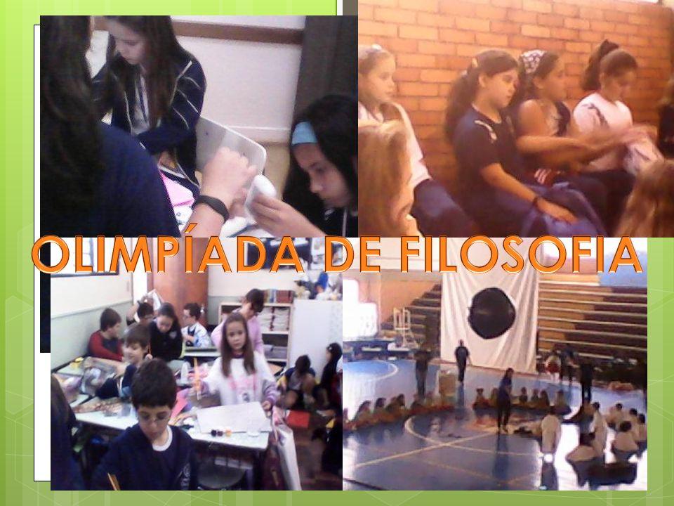 OLIMPÍADA DE FILOSOFIA