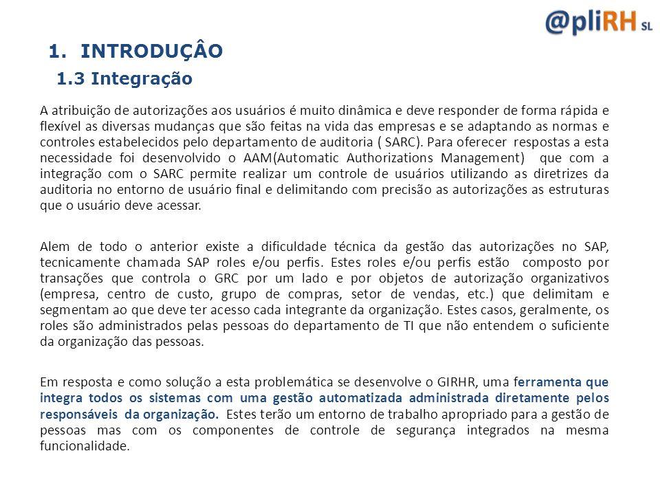 INTRODUÇÂO 1.3 Integração