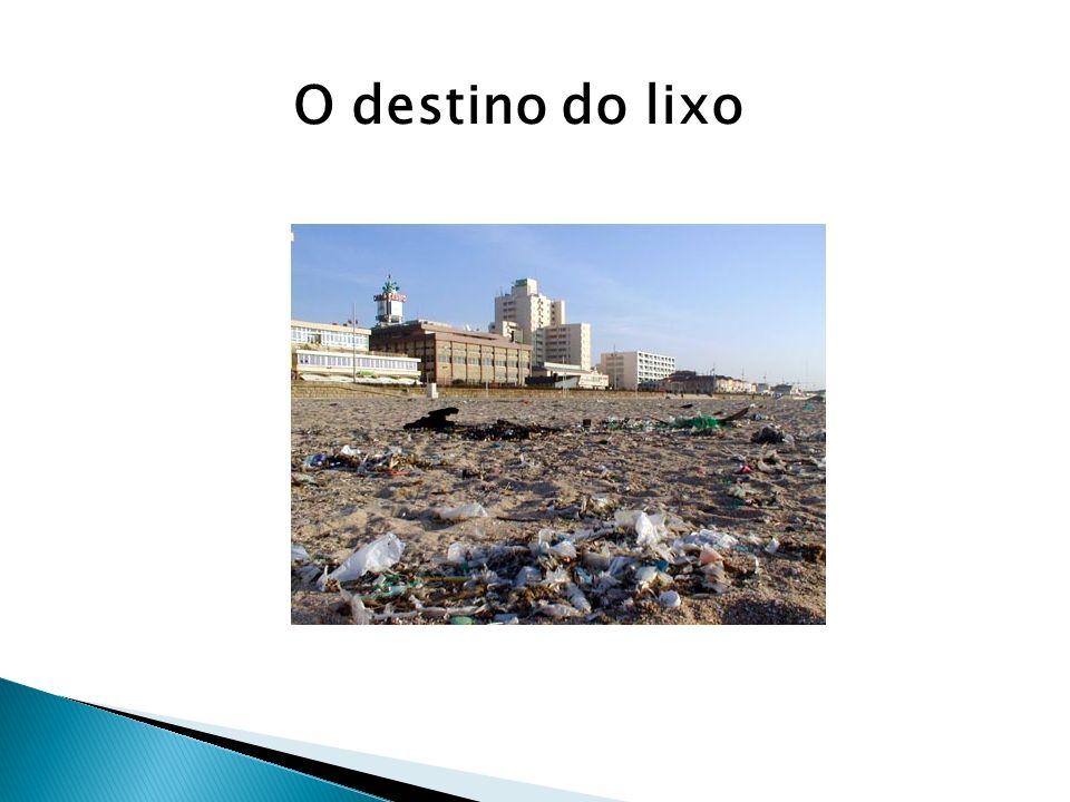 O destino do lixo