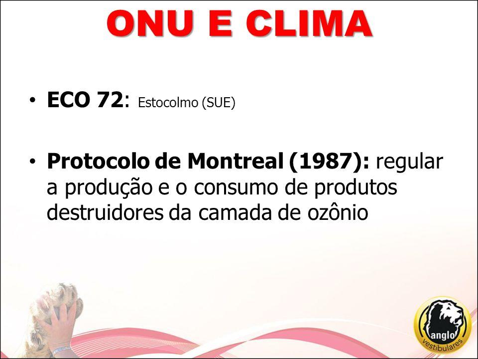 ONU E CLIMA ECO 72: Estocolmo (SUE)