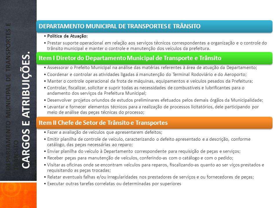 DEPARTAMENTO MUNICIPAL DE TRANSPORTES E TRÂNSITO