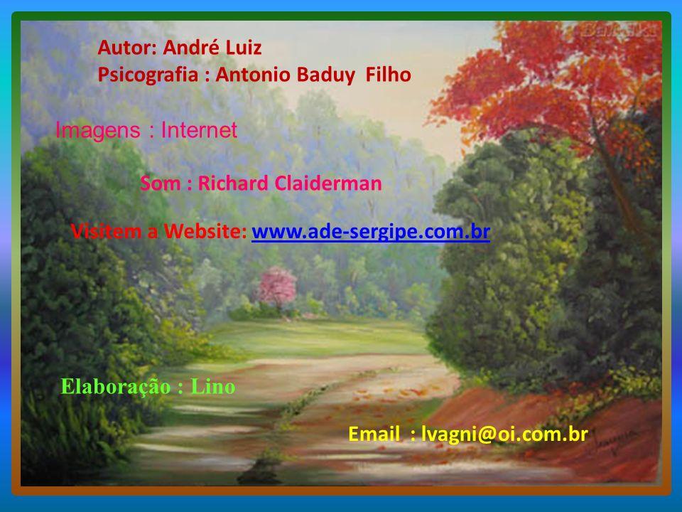 Autor: André Luiz Psicografia : Antonio Baduy Filho