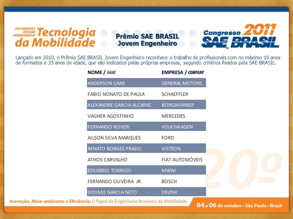Prêmio SAE BRASIL Jovem Engenheiro