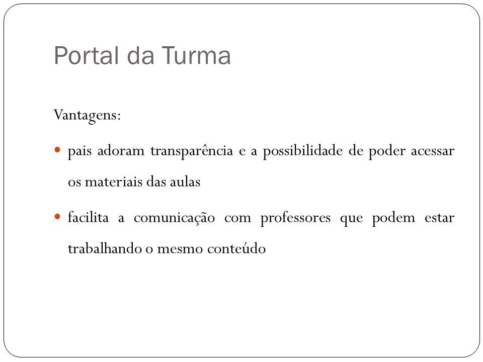 Portal da Turma Vantagens: