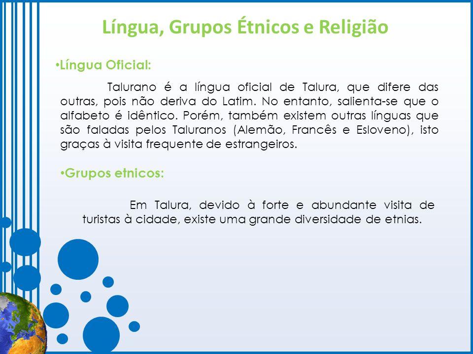 Língua, Grupos Étnicos e Religião