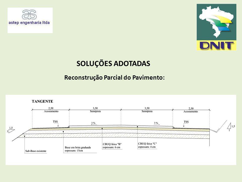 Reconstrução Parcial do Pavimento: