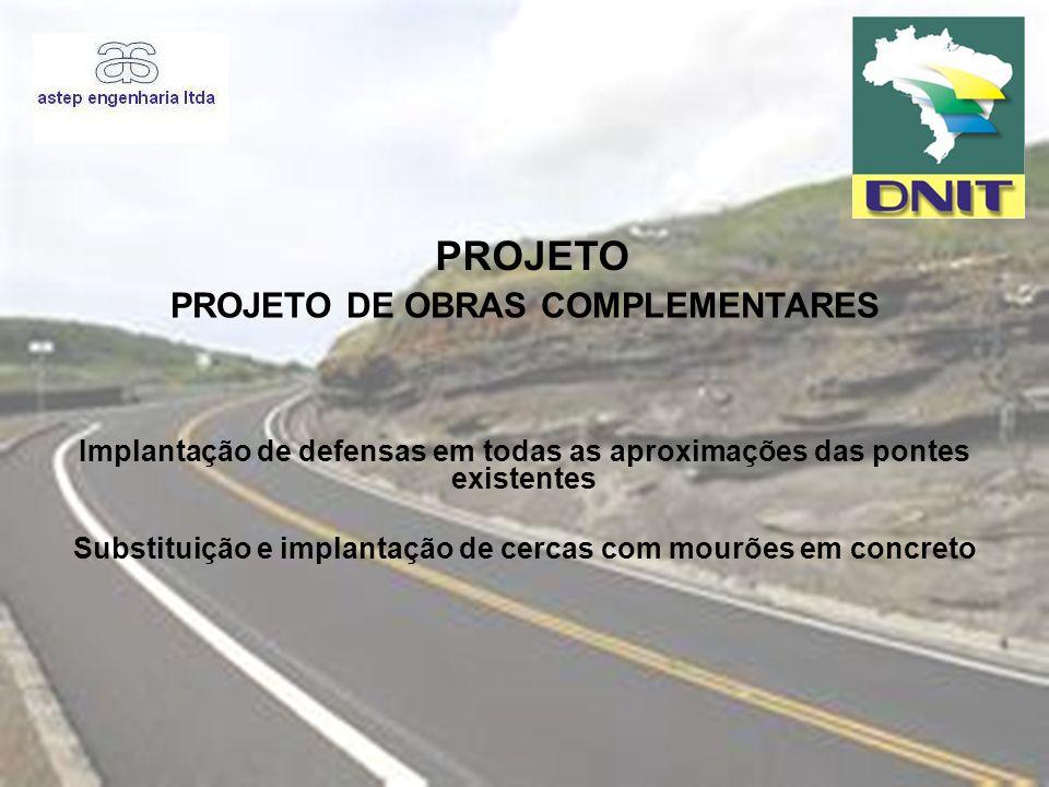 PROJETO PROJETO DE OBRAS COMPLEMENTARES