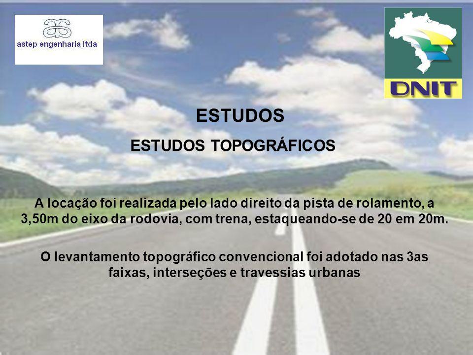 ESTUDOS Estudos Topográficos
