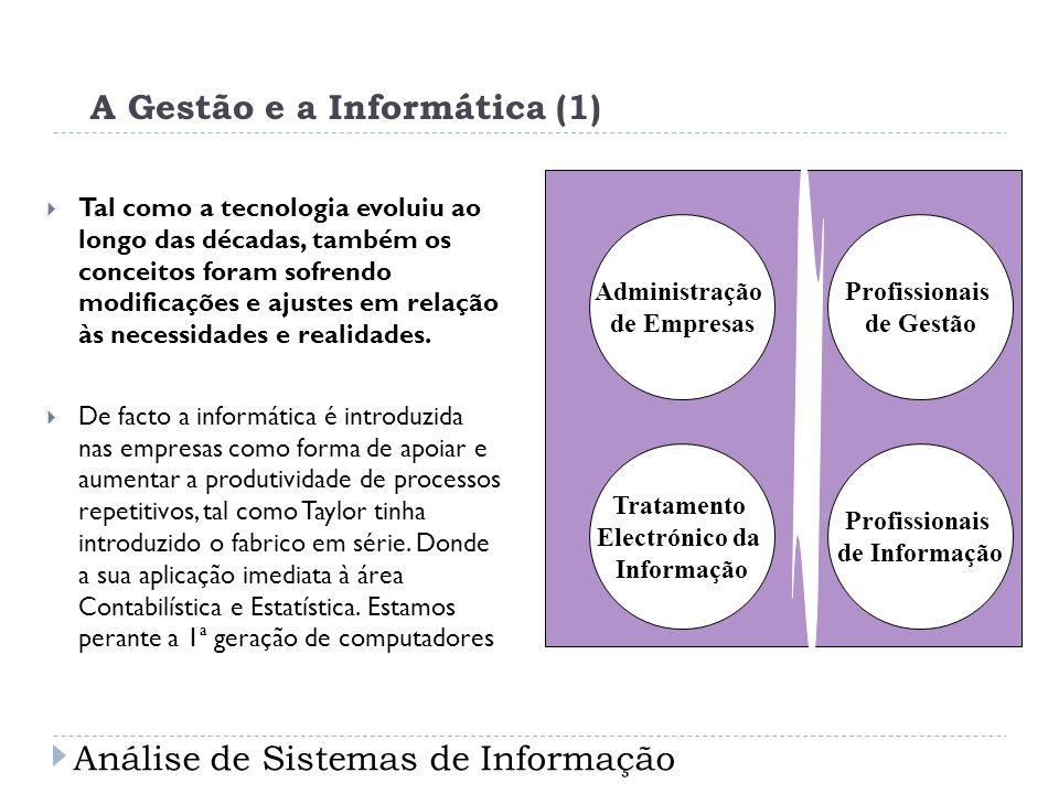 A Gestão e a Informática (1)