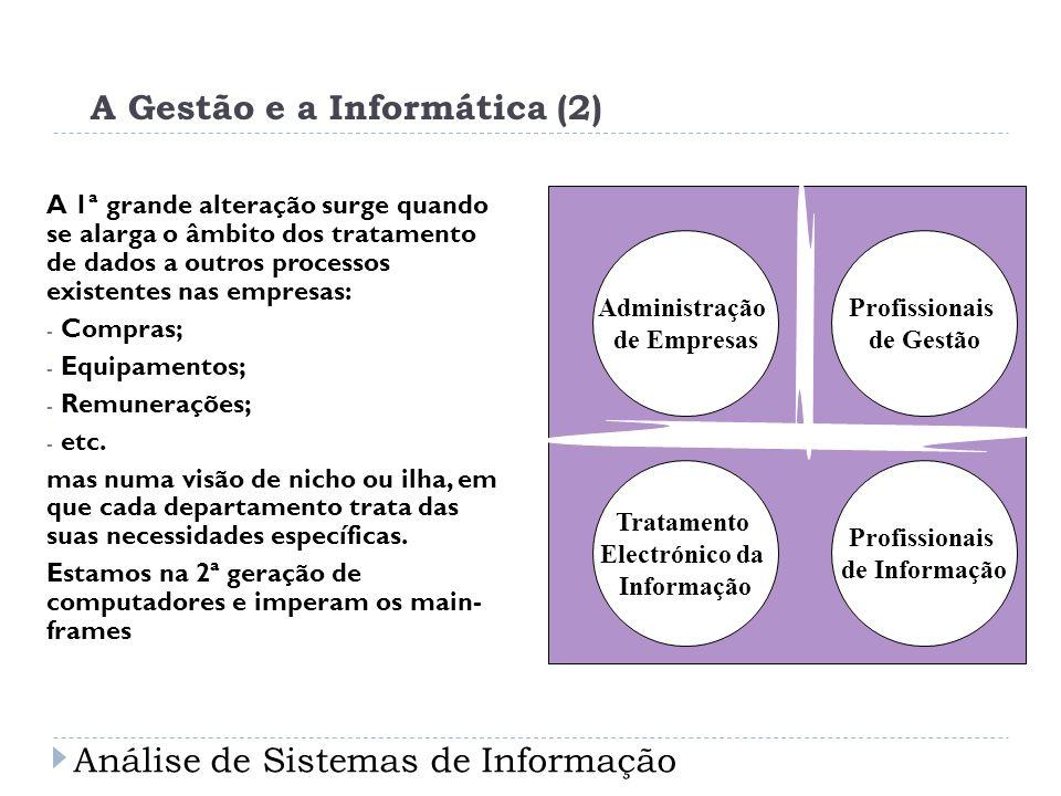 A Gestão e a Informática (2)