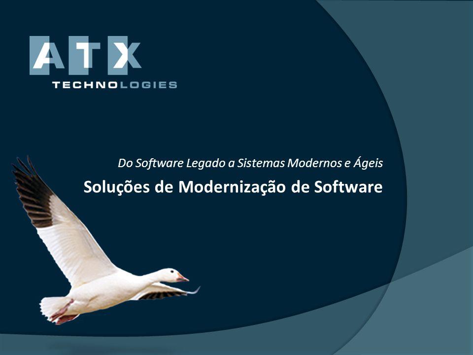 Soluções de Modernização de Software