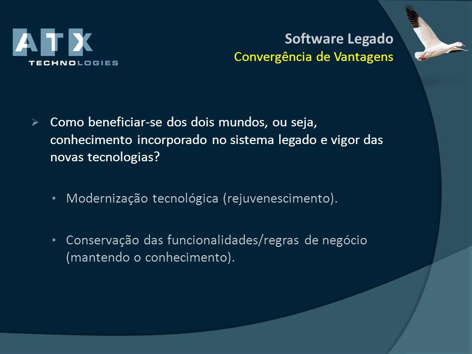 Software Legado Convergência de Vantagens