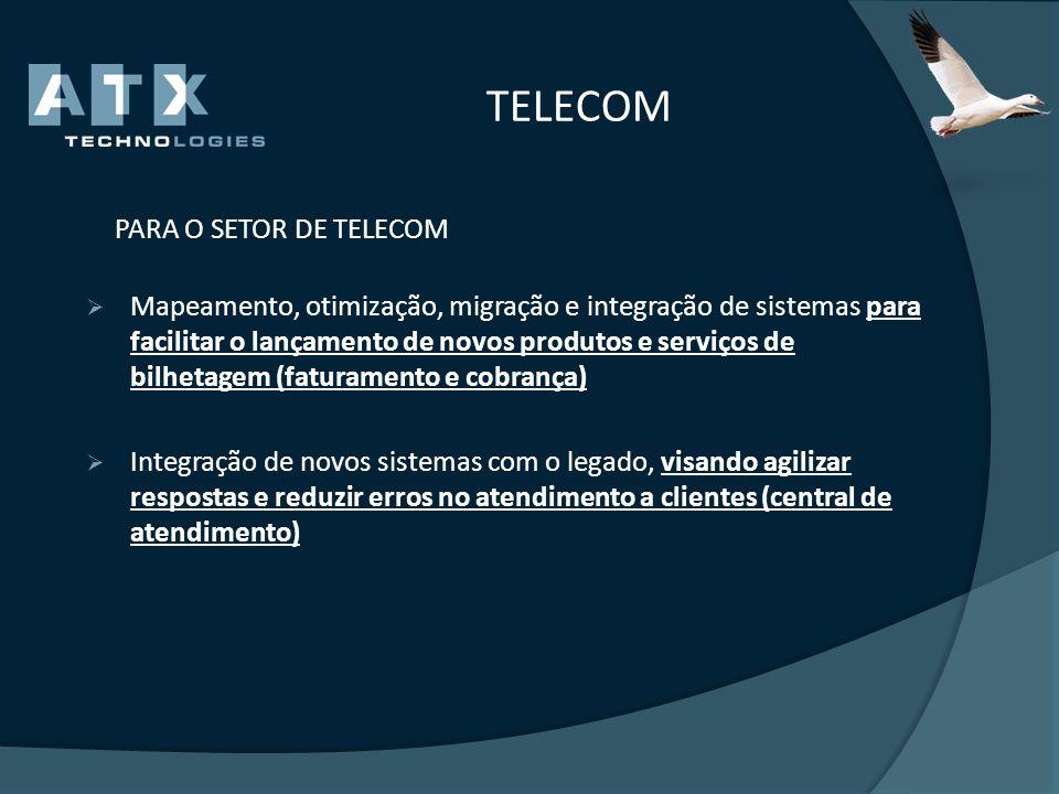 TELECOM PARA O SETOR DE TELECOM