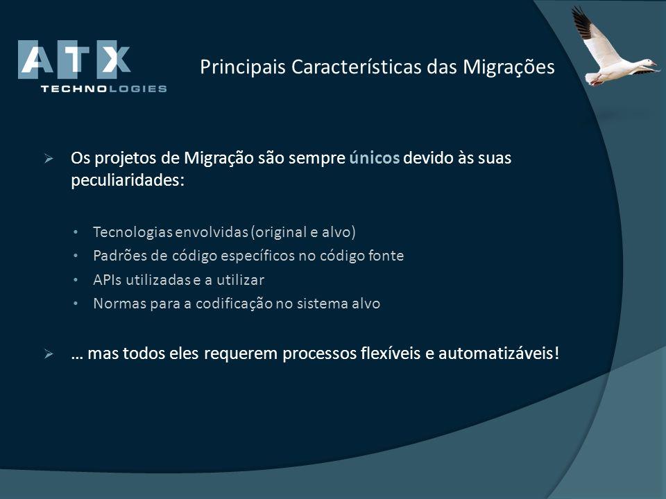 Principais Características das Migrações