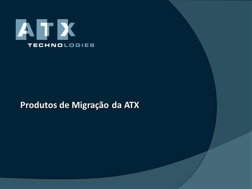 Produtos de Migração da ATX