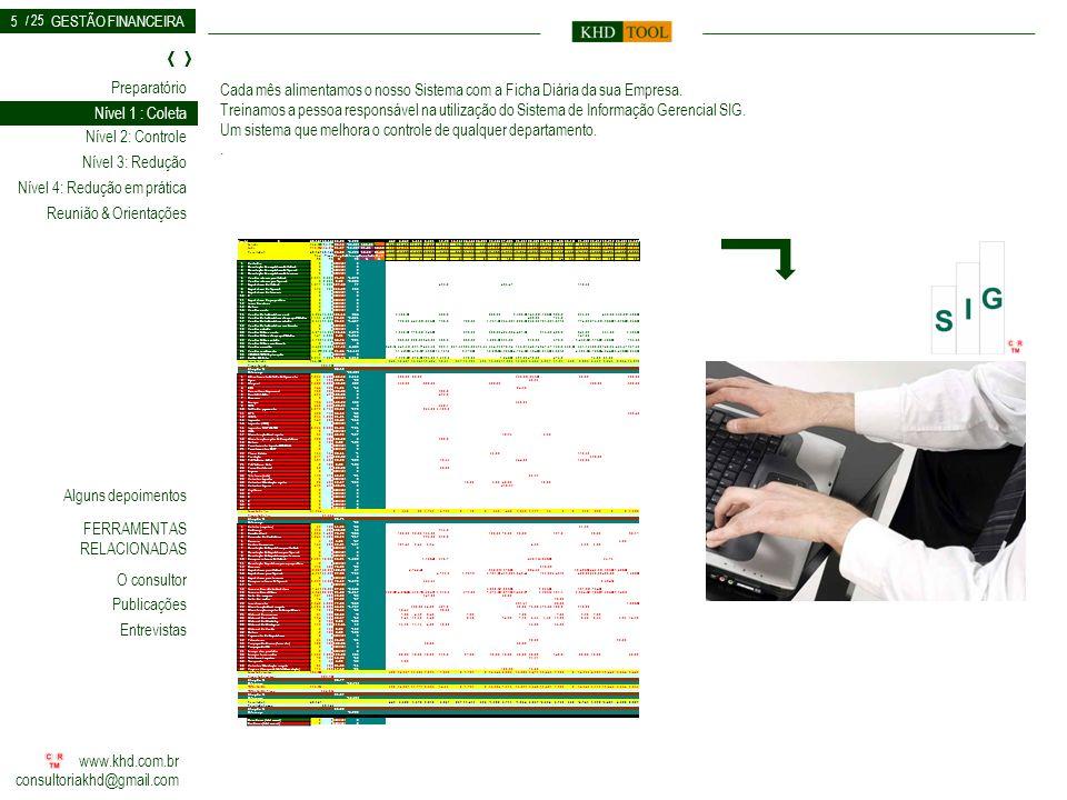 Um sistema que melhora o controle de qualquer departamento. .