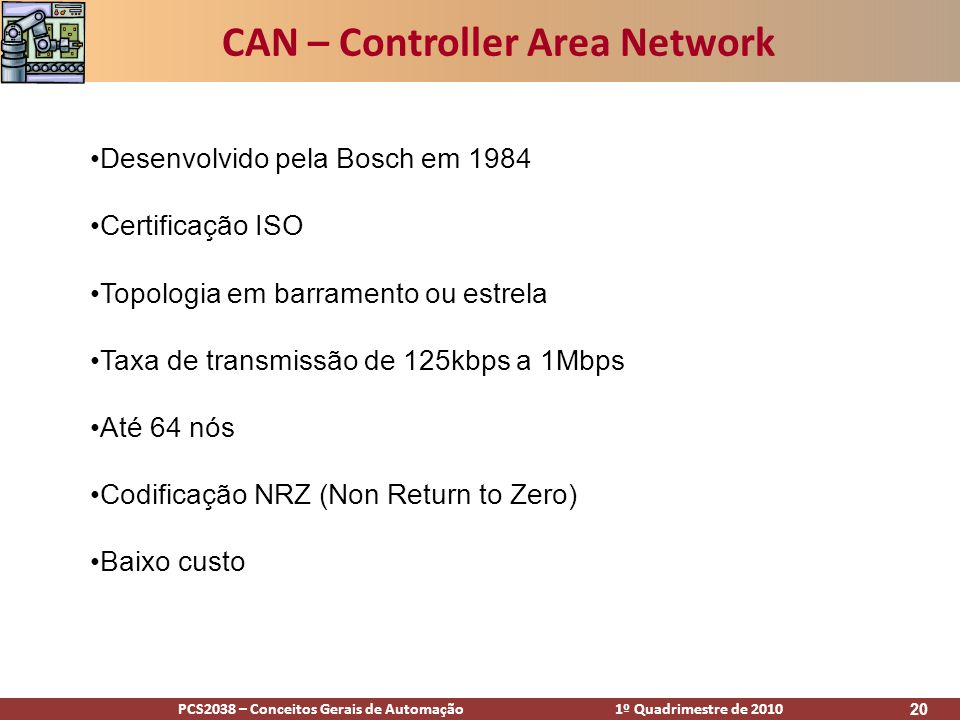 CAN – Controller Area Network