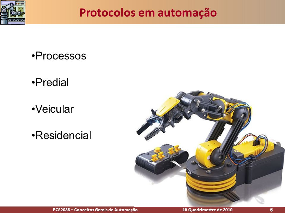 Protocolos em automação