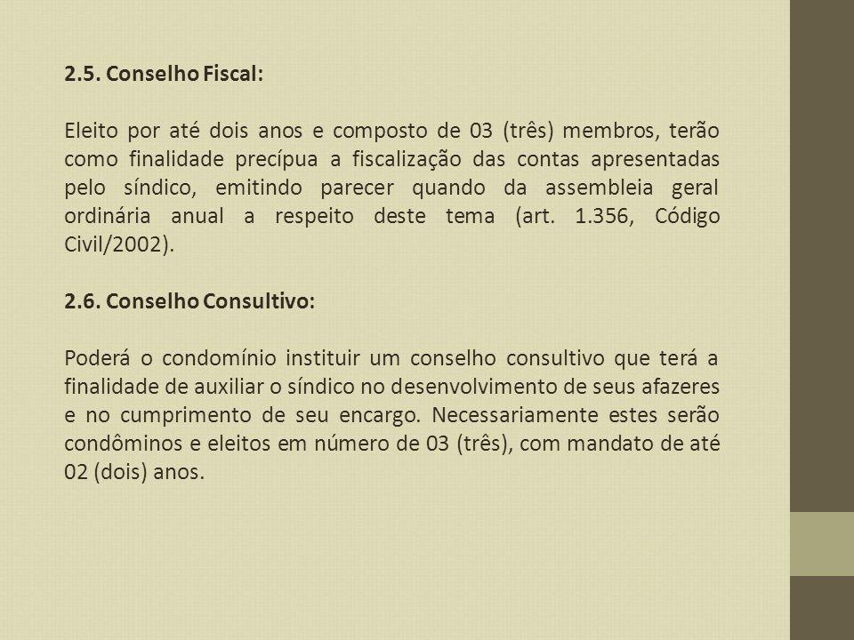 2.5. Conselho Fiscal: