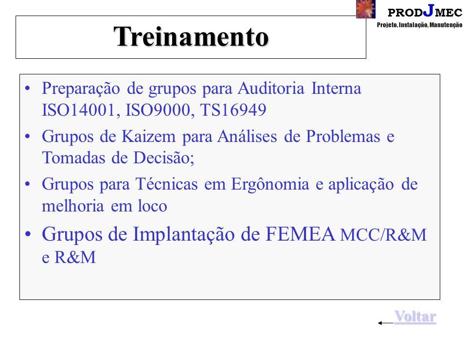 Treinamento Grupos de Implantação de FEMEA MCC/R&M e R&M