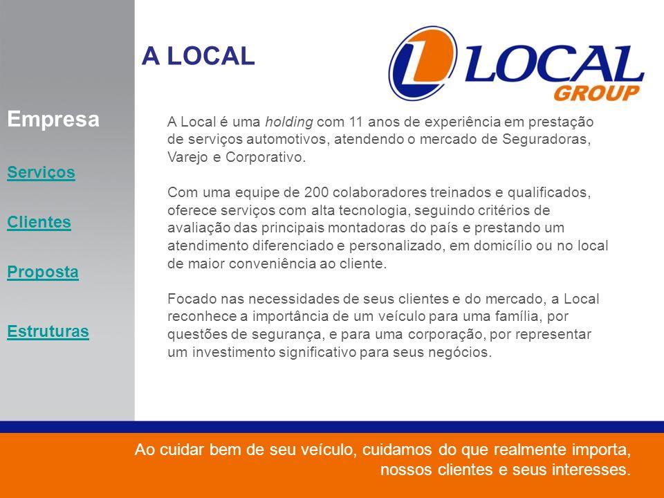 A LOCAL Empresa Serviços Clientes Proposta Estruturas
