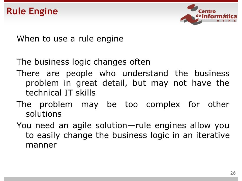 Rule Engine